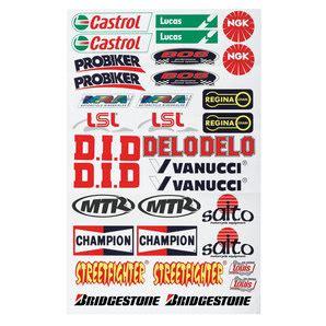 Motorrad Aufkleber Louis by Aufkleber Set I Ma 223 E 30x50cm 17 Markenaufkleber Kaufen