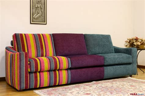 divani in tessuto divano multicolore moderno in tessuto vama divani