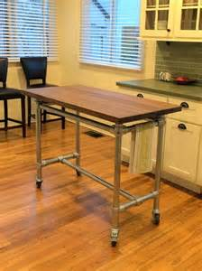 rolling kitchen island table 1000 ideas about rolling table on office