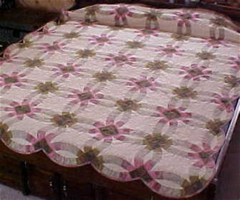 Handmade Wedding Ring Quilts For Sale - handmade wedding ring quilt for sale quilts for