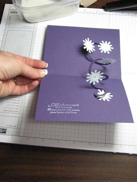 spiral pop up card template free 162 best cricut pop up cards images on pop up