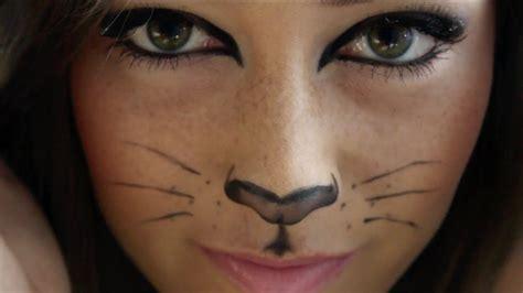 cat makeup tutorial kitty cat halloween makeup tutorial youtube