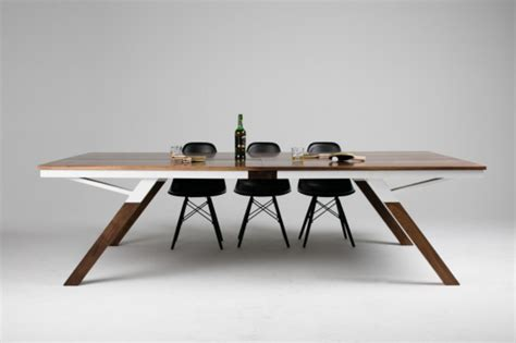 Table Tennis Dining Table You Can Play Ping Pong In This Modern Dining Table