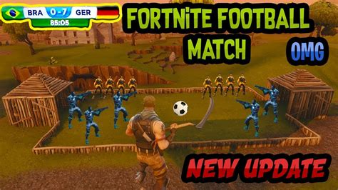 fortnite news fortnite new gamemode football match fortnite battle