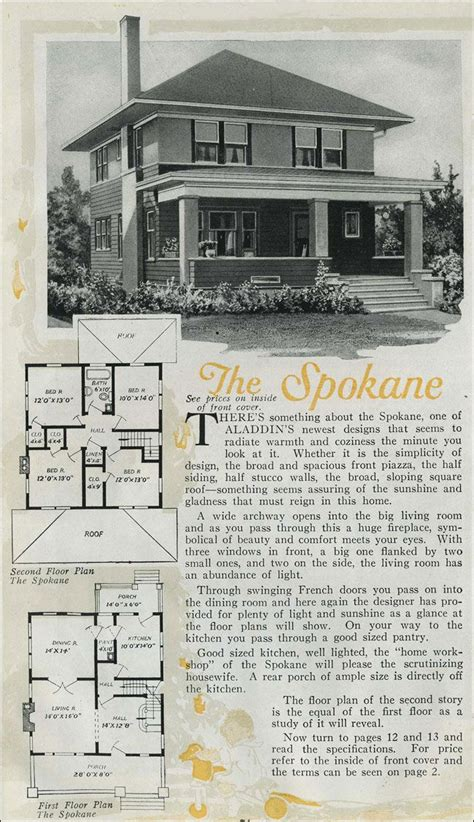 aladdin homes floor plans 1920 aladdin spokane floor plans pinterest