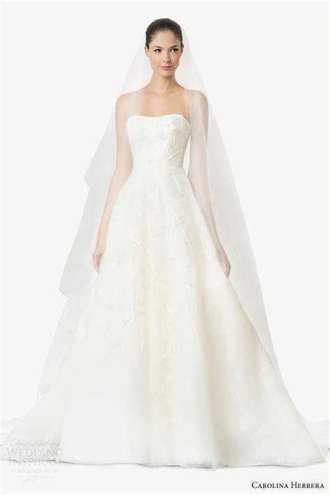 carolina herrera wedding dresses carolina herrera bridal fall 2015 wedding dresses