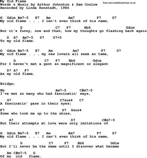my lyrics ronstadt song lyrics with guitar chords for my