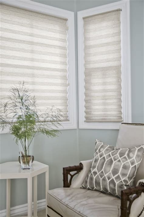 beachy window treatments smith and noble classic pleated shades style