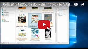 vitalsource bookshelf convert to pdf 28 images