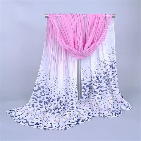 wholesale leopard chiffon scarf china scarf