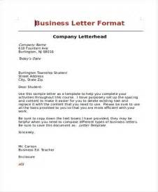 Business Letter Formatting Guide 6 professional business letters samples 2017 free
