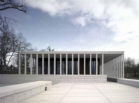 modern museum architecture hedge building rostock building pavilion iga