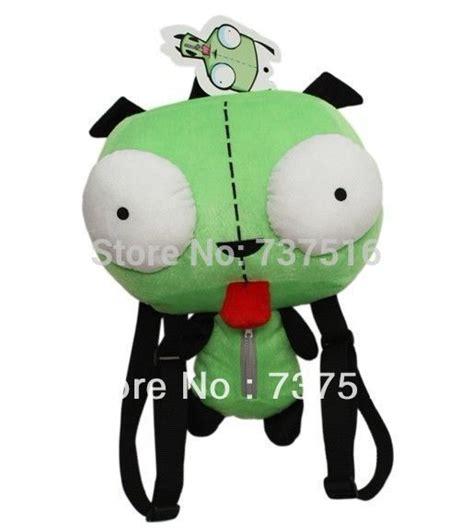 alien invader zim  eyes robot gir cute stuffed plush