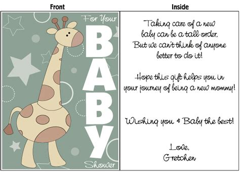 Baby Shower Greeting Cards To Print Out by Quotes For Baby Shower Cards Quotesgram