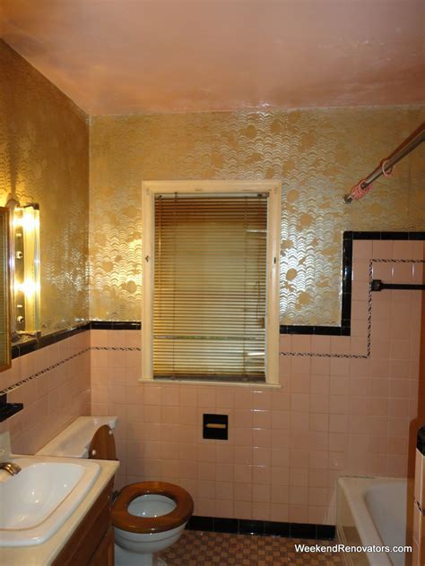 25 wonderful pictures and ideas of gold bathroom wall tiles