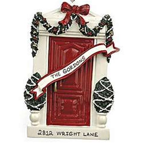 first house christmas ornament personalized first new house christmas ornament findgift com