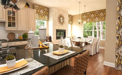 Decorated Model Homes Model Home Merchandising To Model Home Interiors