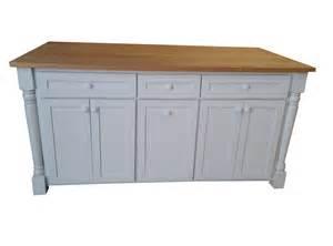 72 Kitchen Island 72 Quot White Kitchen Island Solid Wood Butcher Block Trash