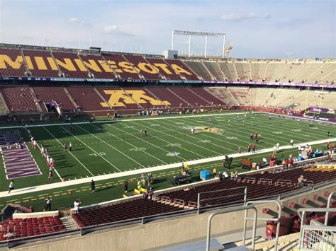section 245 i tcf bank stadium section 245 minnesota football