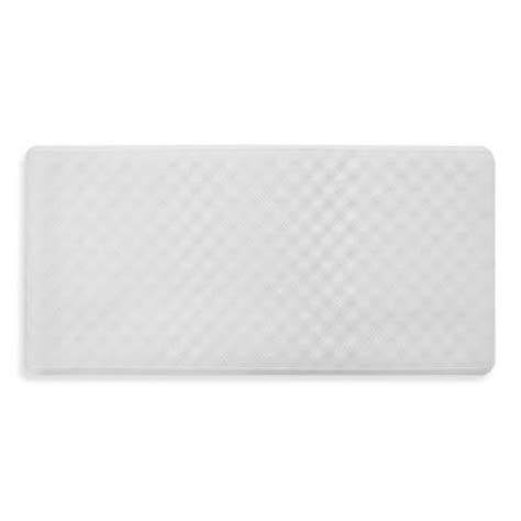 bathtub mats without suction cups ginsey rubber bath mat