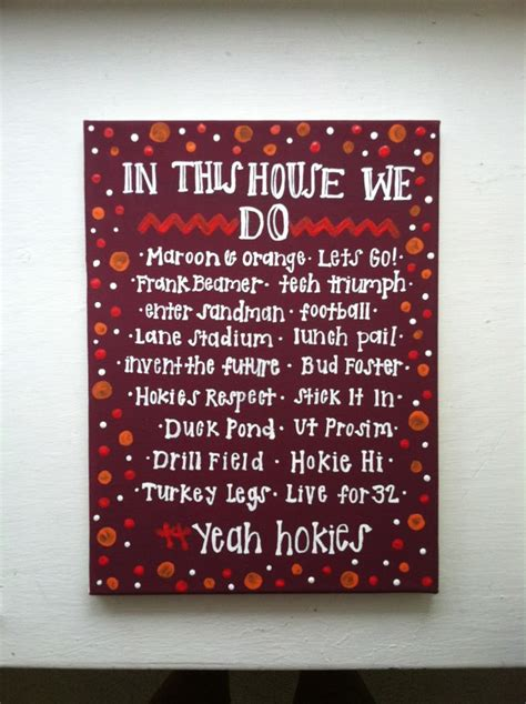 hokie house virginia tech quot in this house we do quot applyful com dorm life pinterest