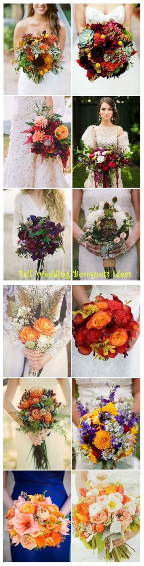 Wedding Bouquet Ideas For Fall by Best 25 Fall Wedding Bouquets Ideas On Fall