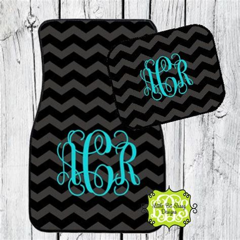 Initial Floor Mats Car 17 Best Images About Monogrammed Pretties Initials Grey
