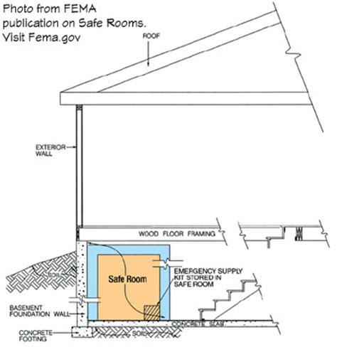 tornado safe house plans house plan