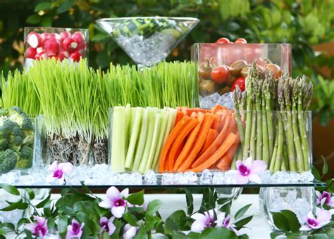 Veggie Table by Apropos Events Fruit Vege Buffet