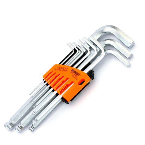 Promo Tekiro Kunci L Hex Key Set jakemy 9pcs set hex key set durable chrome vanadium ended allen key wrench set l type
