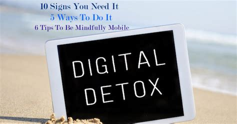 How To Do Digital Detox by Digital Detox How To Unplug And Reconnect The Goodista
