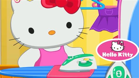 Hello Kitty Laundry Day Video Game For Children Youtube Hello Laundry