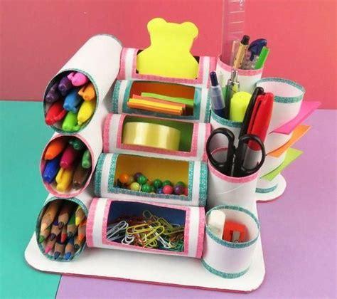 imagenes de organizadores de utiles escolares mini organizador reciclado para decorar habitaci 243 n de