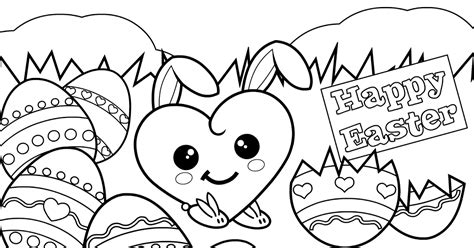 cute spring coloring pages 13 cute easter coloring pages gt gt disney coloring pages