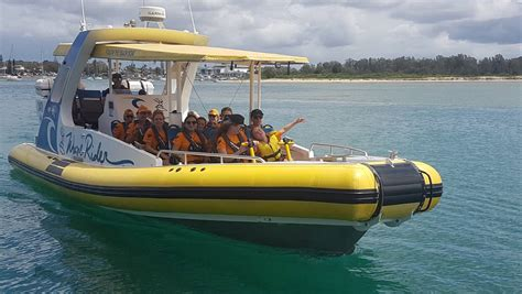 boat r port macquarie kids taken for ride of jet boat zoo and golfing fun in