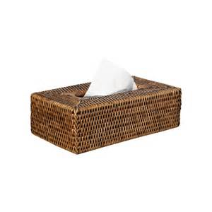 Covers Outdoor Furniture by Rattan Tissue Box Cover Handwoven Oka