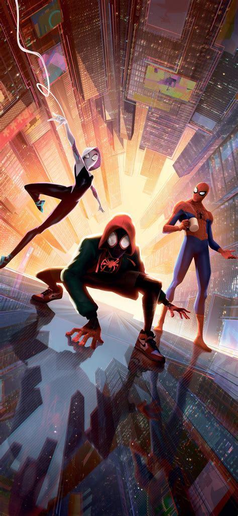 spiderman   spider verse    iphone