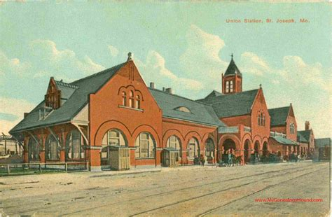 st joseph missouri union station railroad depot