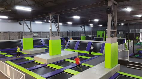 Home Design Guys limitless trampoline park rc green