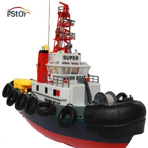 largest fire boat large fire rc boat 5 channel remote control seaport work