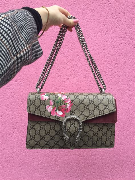 see my new gucci bag silver stories