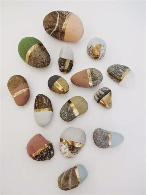 Rock Decorations by 25 Best Ideas About Rock Decor On Pebble