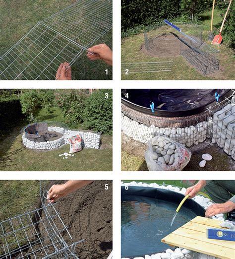 come costruire un laghetto da giardino costruire un laghetto fai da te bricoportale fai da te