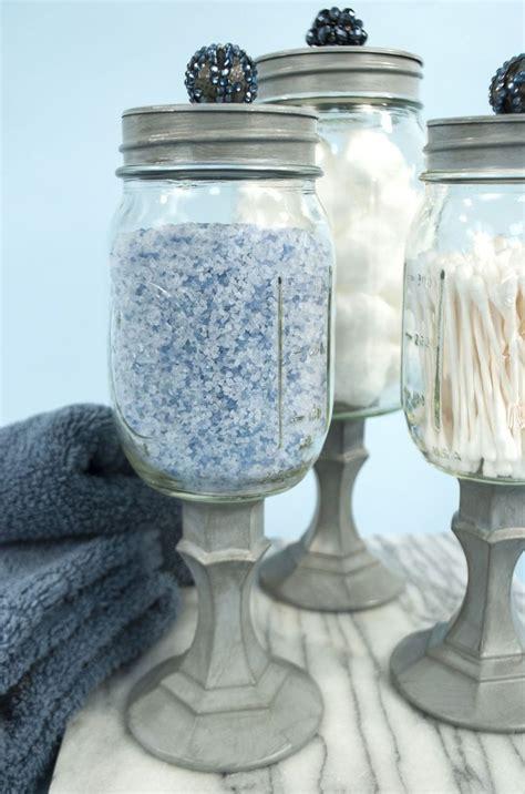 bathroom jars with lids 25 best ideas about mason jar storage on pinterest