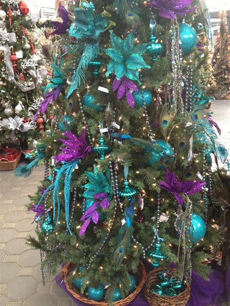 best 25 peacock christmas tree ideas on pinterest
