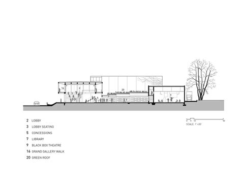 S Theatre District Is Located In Which Section Of by Gallery Of Writers Theatre Studio Architects 9