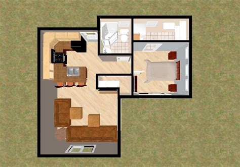 house plan for 500 sq ft simple home designs under 1000 square foot