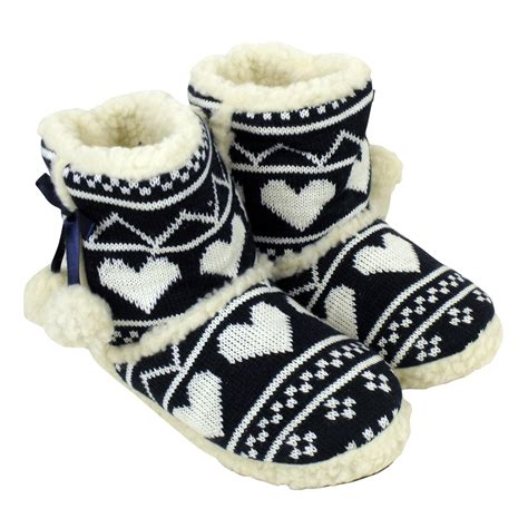 womans slipper boots quality eskimo bootee ankle boot slippers warm