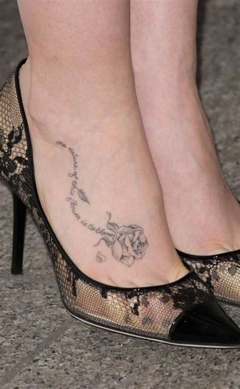 small rose foot tattoos collins tattoos collins