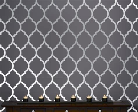 wall stencil template patterns for walls 2017 grasscloth wallpaper